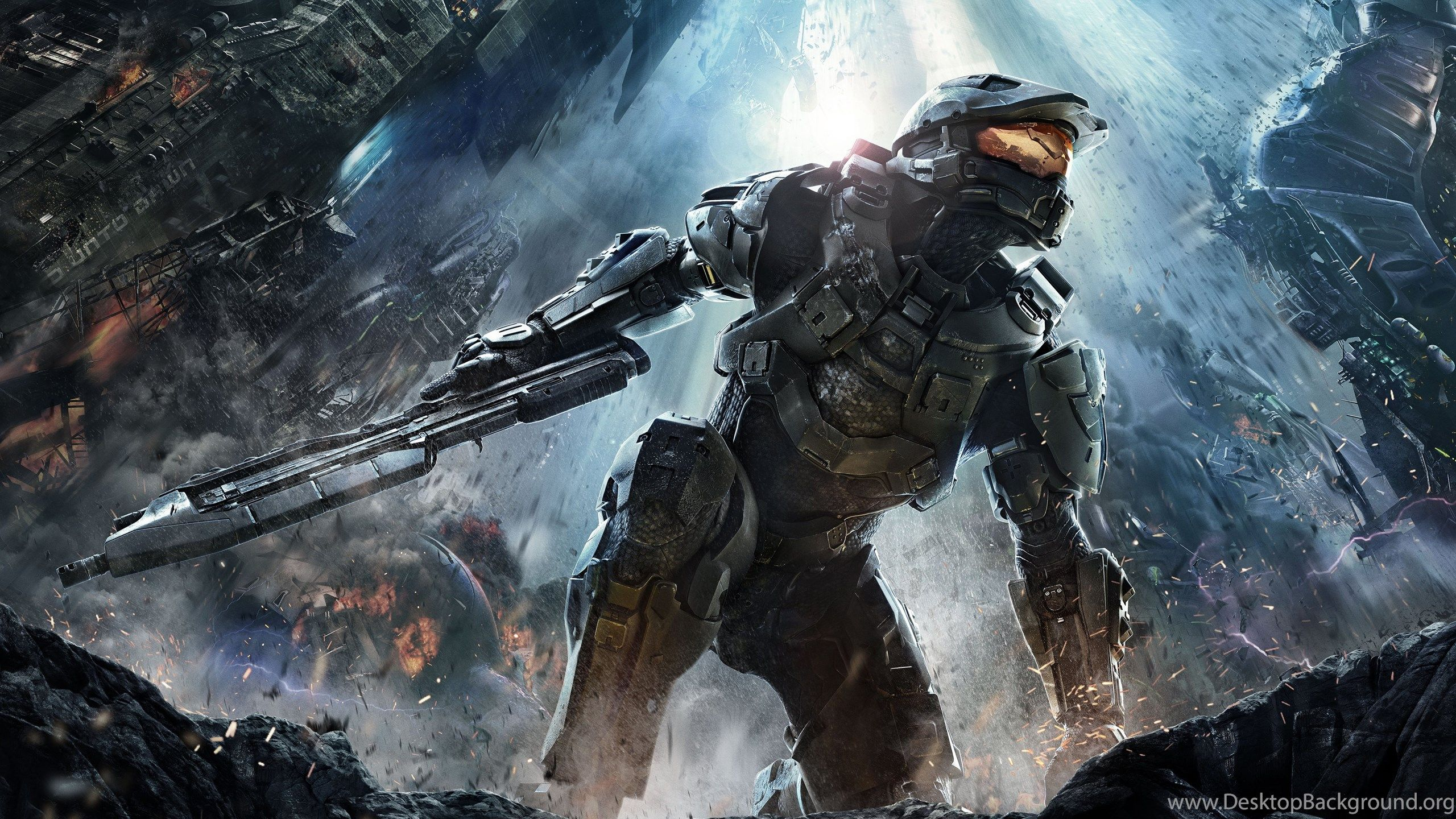 Halo Wallpaper Desktop Background   Data-src /full/866572 - Fondos De Pantalla Hd Para Pc Gamer , HD Wallpaper & Backgrounds