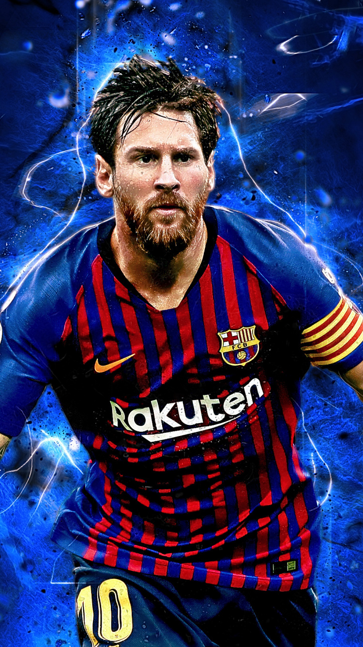 Artwork, Footballer, Celebrity, Lionel Messi, Wallpaper - Messi Hd , HD Wallpaper & Backgrounds