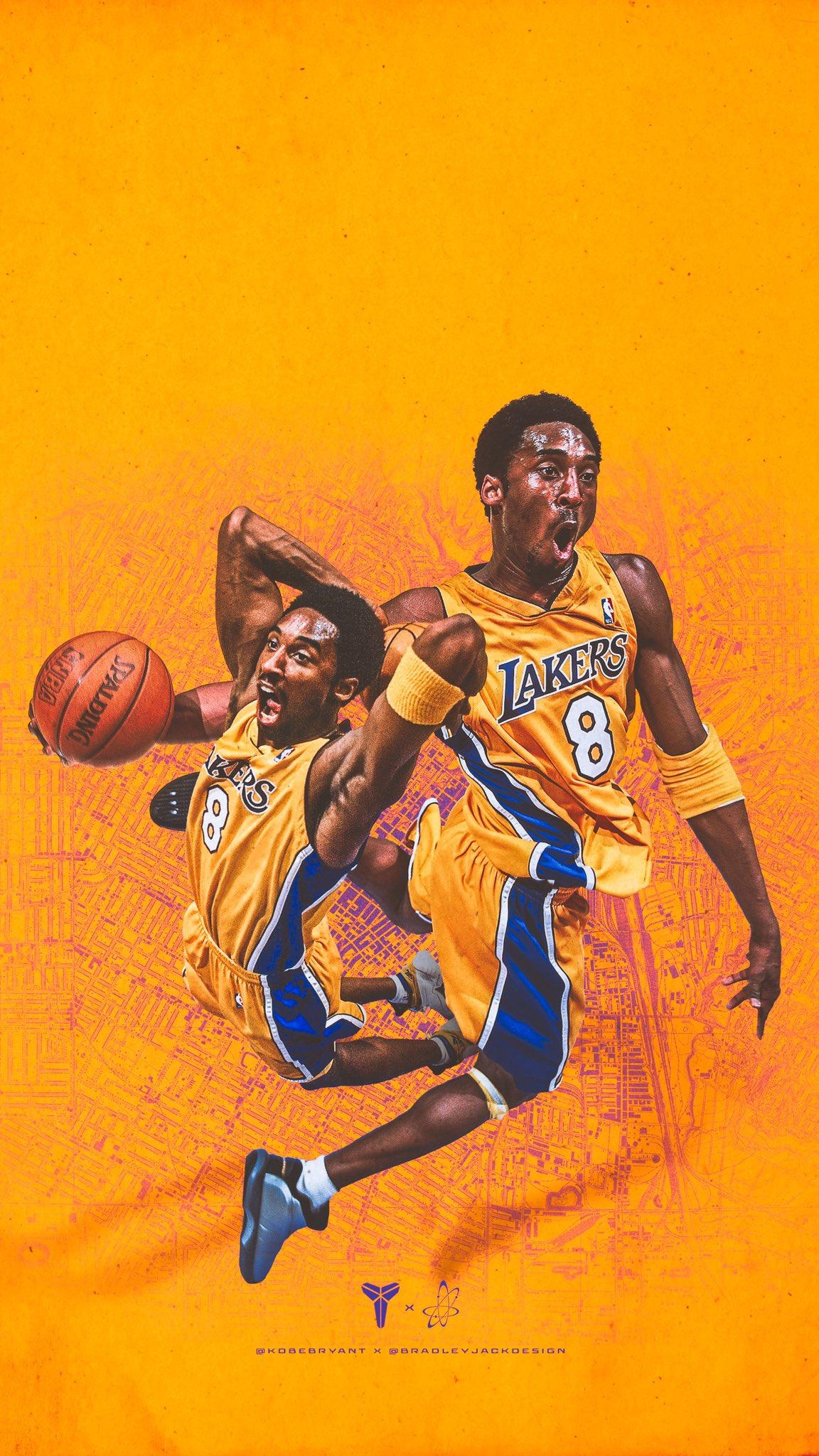 Kobe Iphone Wallpaper - Kobe Bryant , HD Wallpaper & Backgrounds