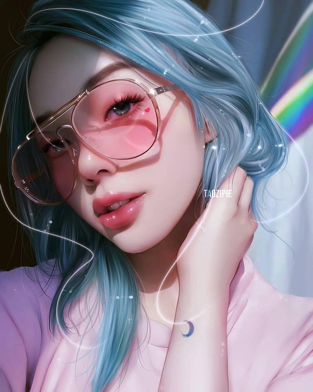 Cute Girls Wallpapers 2019 For Android Apk Download Anime Realistic Digital Art 2852059 Hd Wallpaper Backgrounds Download
