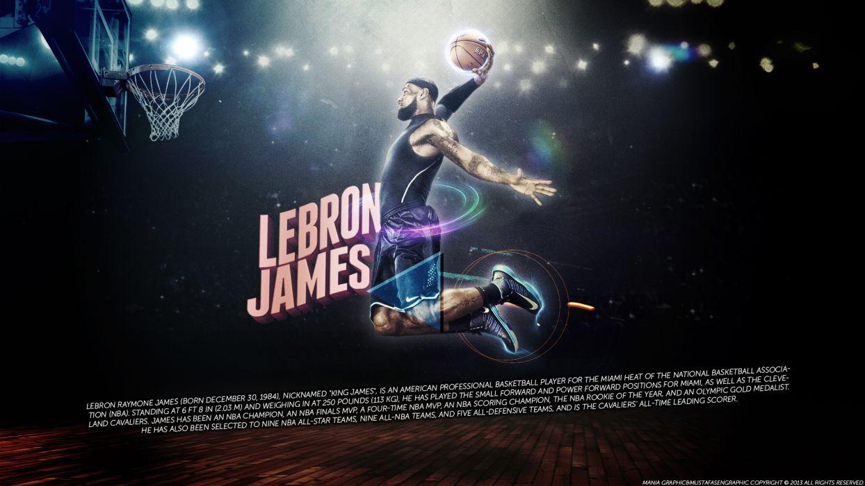Lebron James Basketball Nba Wallpaper , HD Wallpaper & Backgrounds