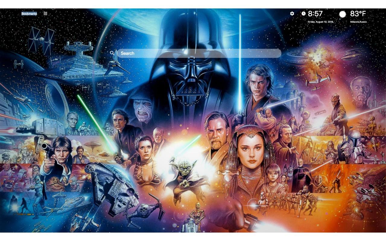 Star War Wallpaper Hd - Tsuneo Sanda Star Wars Poster , HD Wallpaper & Backgrounds