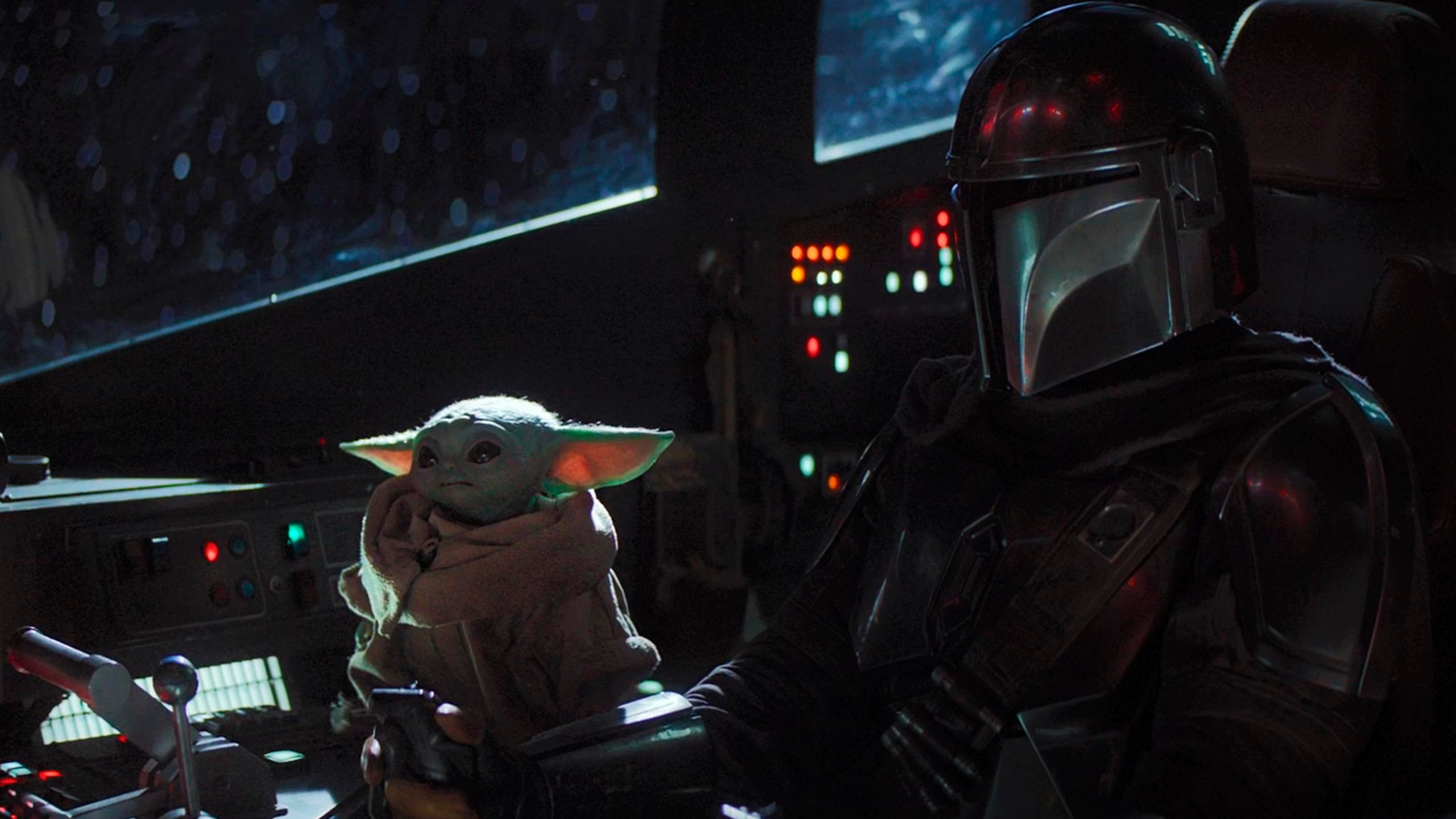 Mandalorian And Baby Yoda Wallpaper 4k 2858441 Hd Wallpaper Backgrounds Download