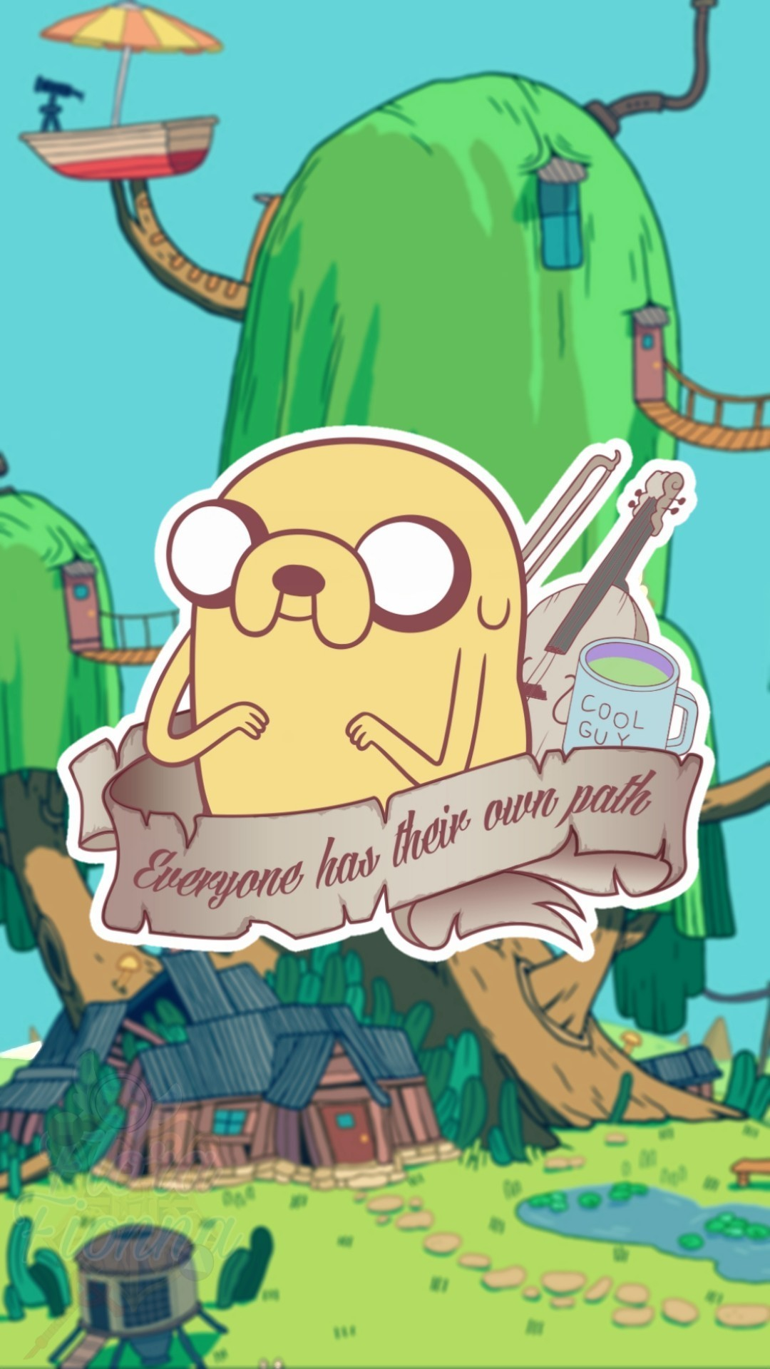 Aesthetic Adventure Time Wallpaper Android Download, - Adventure Time Treehouse , HD Wallpaper & Backgrounds