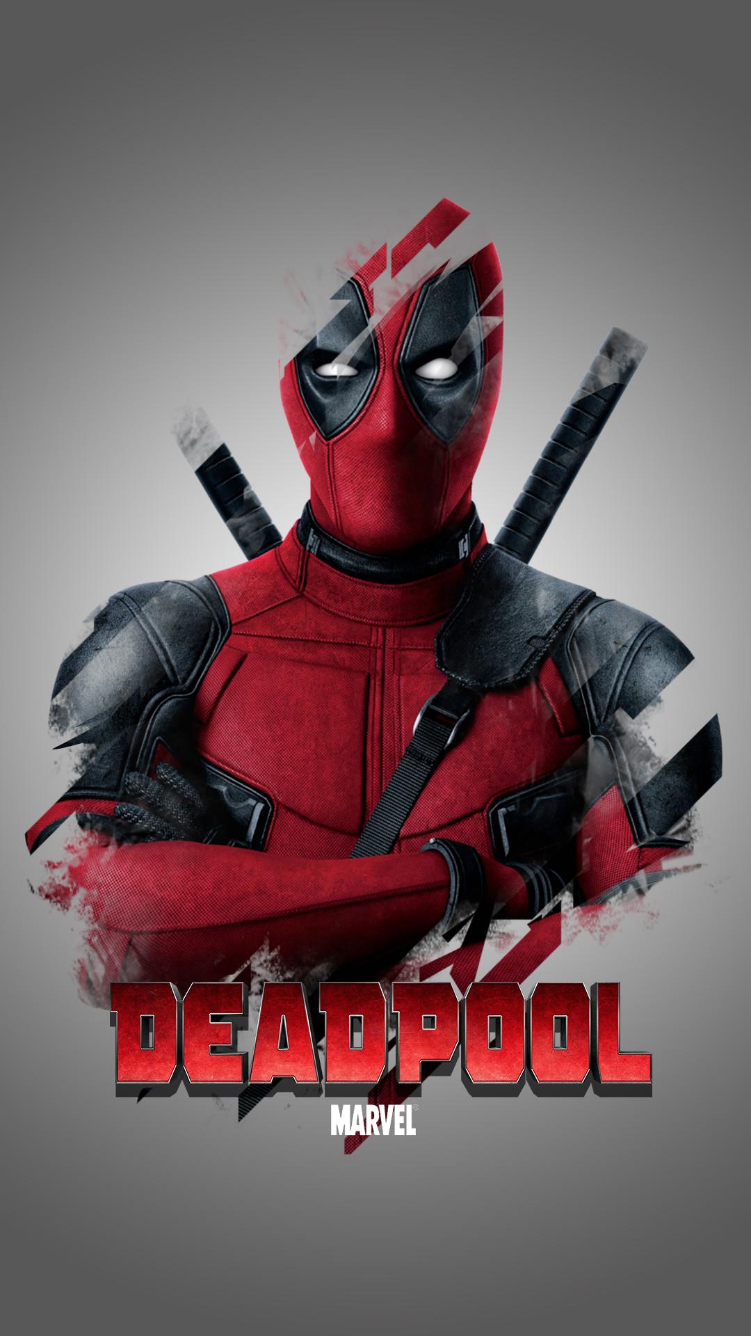 Deadpool Mobile Wallpaper 4k 2859938 Hd Wallpaper Backgrounds Download