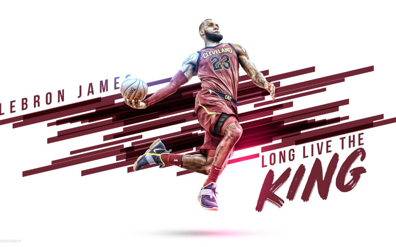 King Lebron James Wallpapers - Long Live The King Lebron , HD Wallpaper & Backgrounds