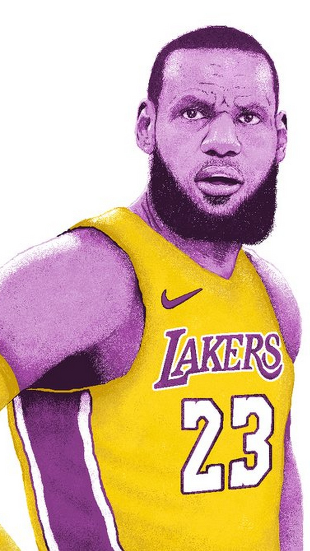 Wallpaper Lebron James La Lakers Iphone With High-resolution - Lebron Wallpaper Iphone Lakers , HD Wallpaper & Backgrounds