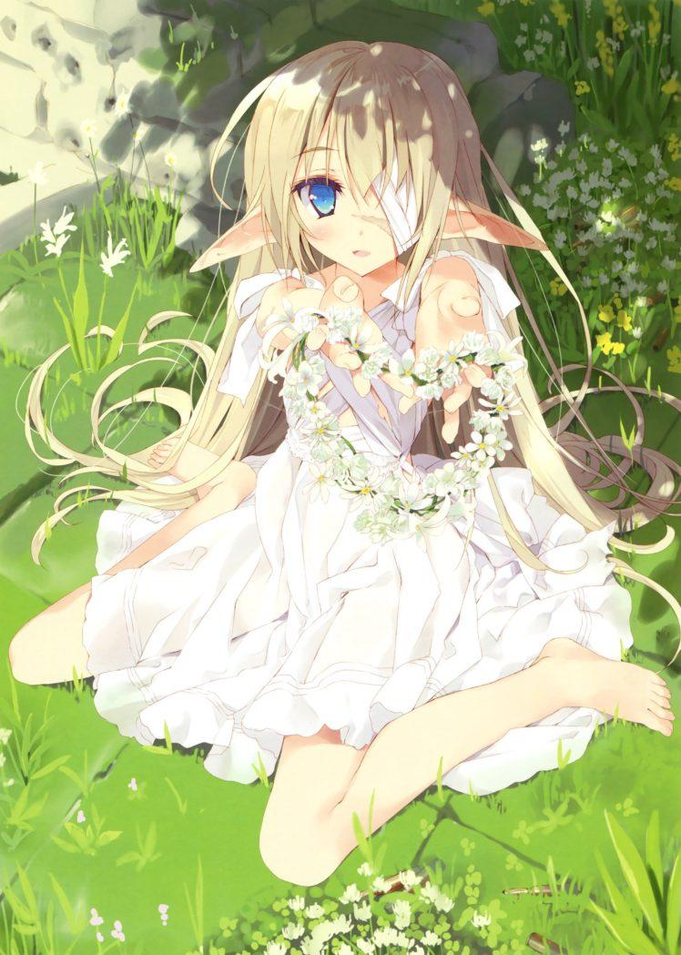 Little Elf Girl Anime , HD Wallpaper & Backgrounds
