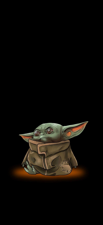 Baby Yoda Homescreen Wallpaper Baby Yoda Iphone X 2863188 Hd Wallpaper Backgrounds Download