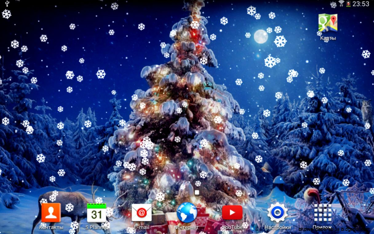 Christmas Wallpaper Android Apps On Google Play - Live Christmas Desktop Background , HD Wallpaper & Backgrounds