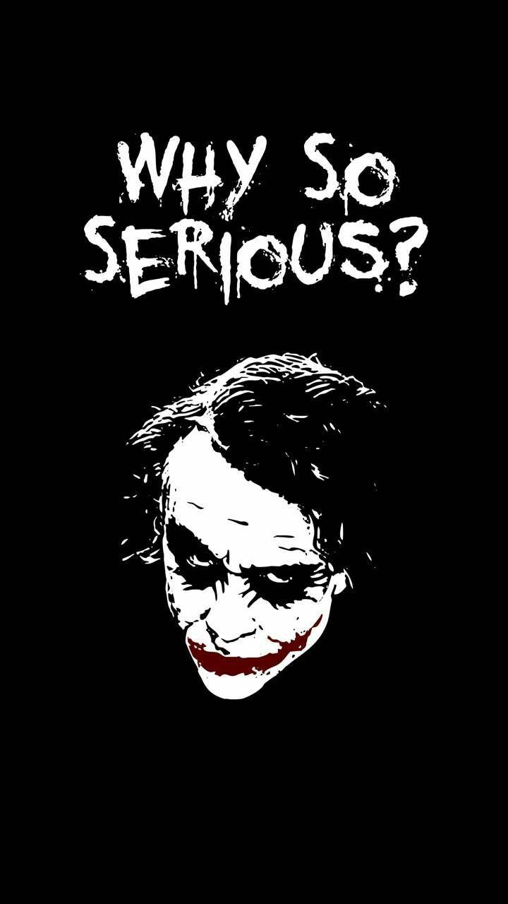 Joker Wallpaper Why So Serious , HD Wallpaper & Backgrounds