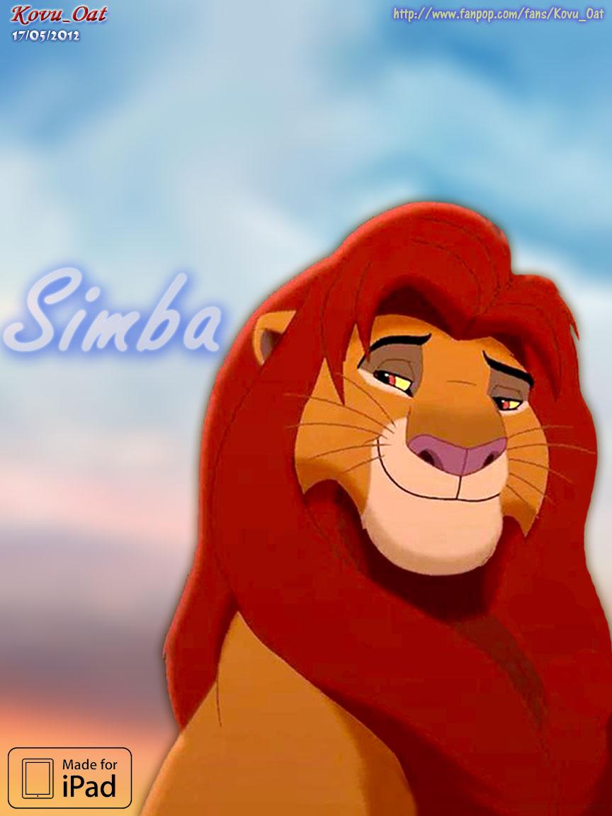 The Lion King Ipad Lock Screen Wallpaper Hd - Old Simba Lion King , HD Wallpaper & Backgrounds