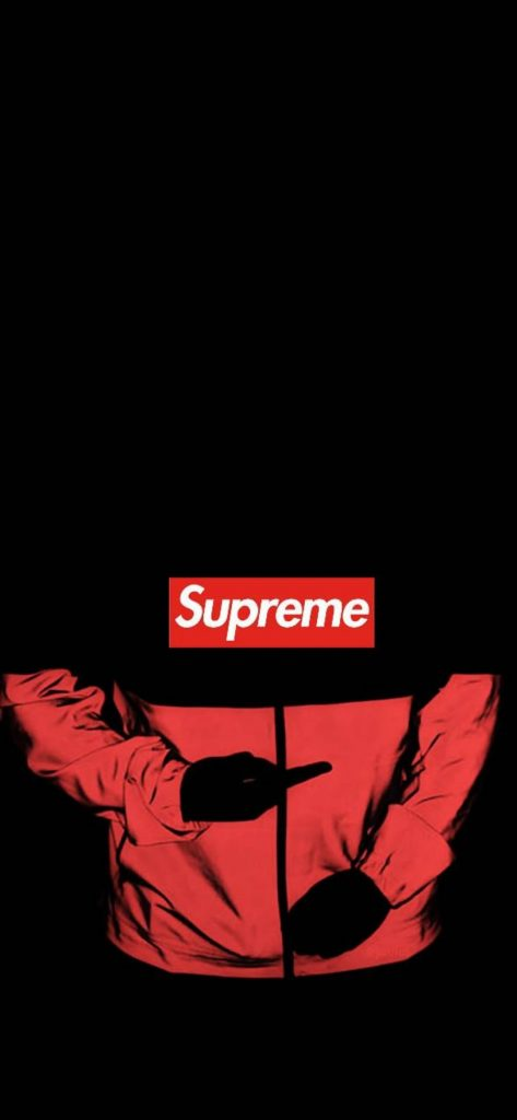 Supreme Lockscreen Wallpaper - Black Supreme Wallpaper Hd ...