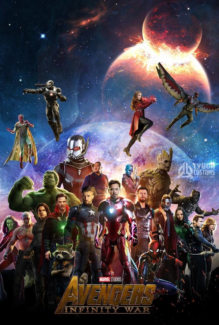 Marvel Studios Avengers Infinity War , HD Wallpaper & Backgrounds