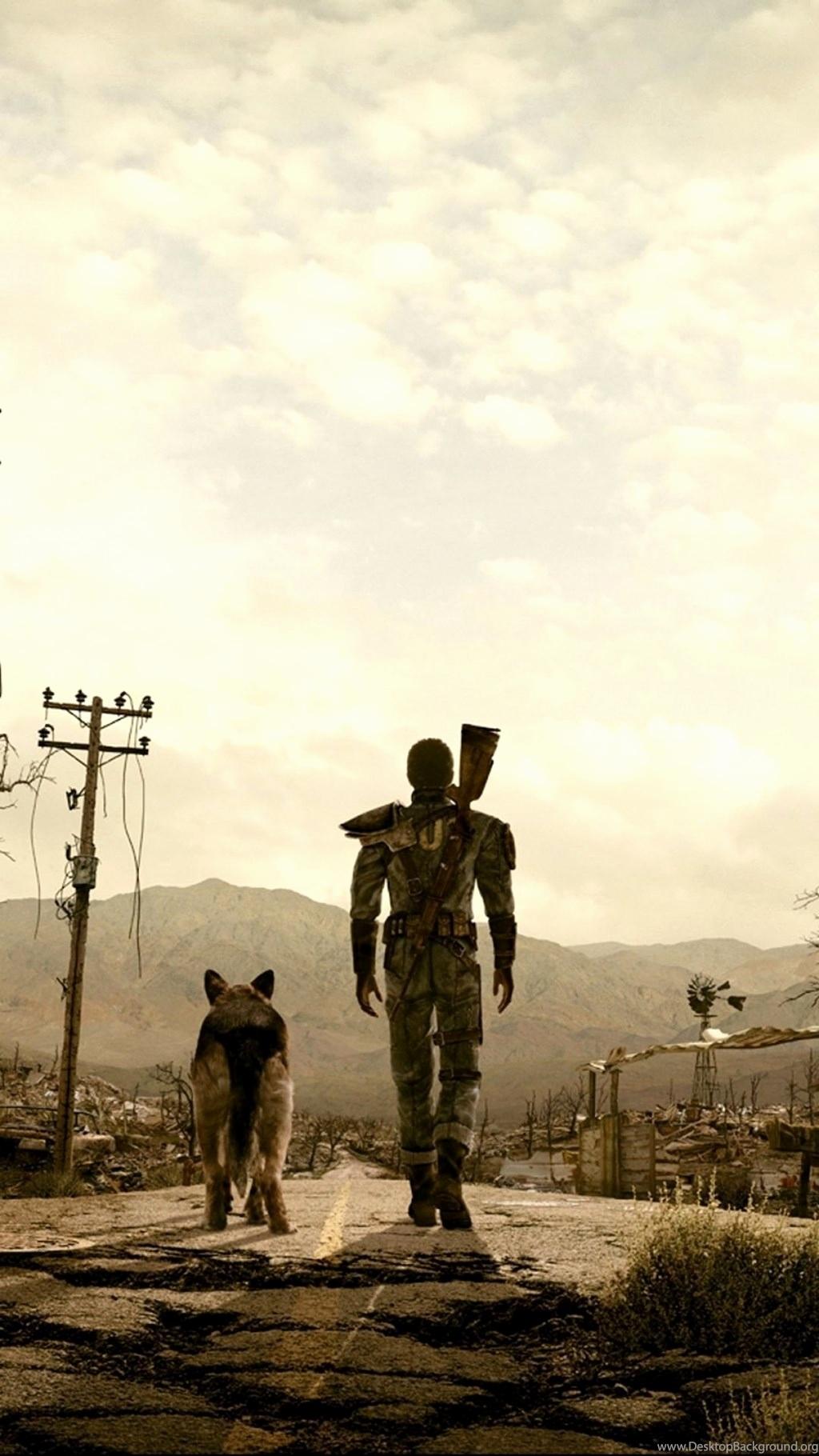 Fallout Lone Wanderer , HD Wallpaper & Backgrounds