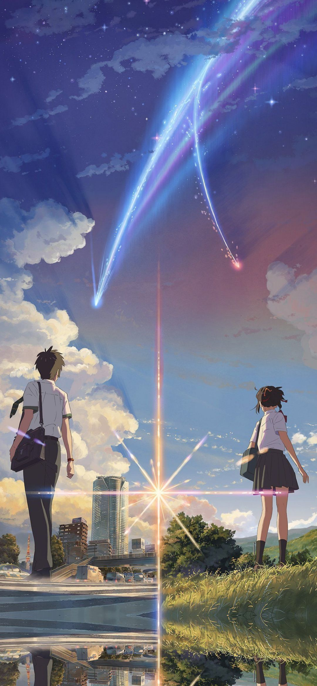 Your Name Anime - Your Name Anime Wallpaper Mobile , HD Wallpaper & Backgrounds