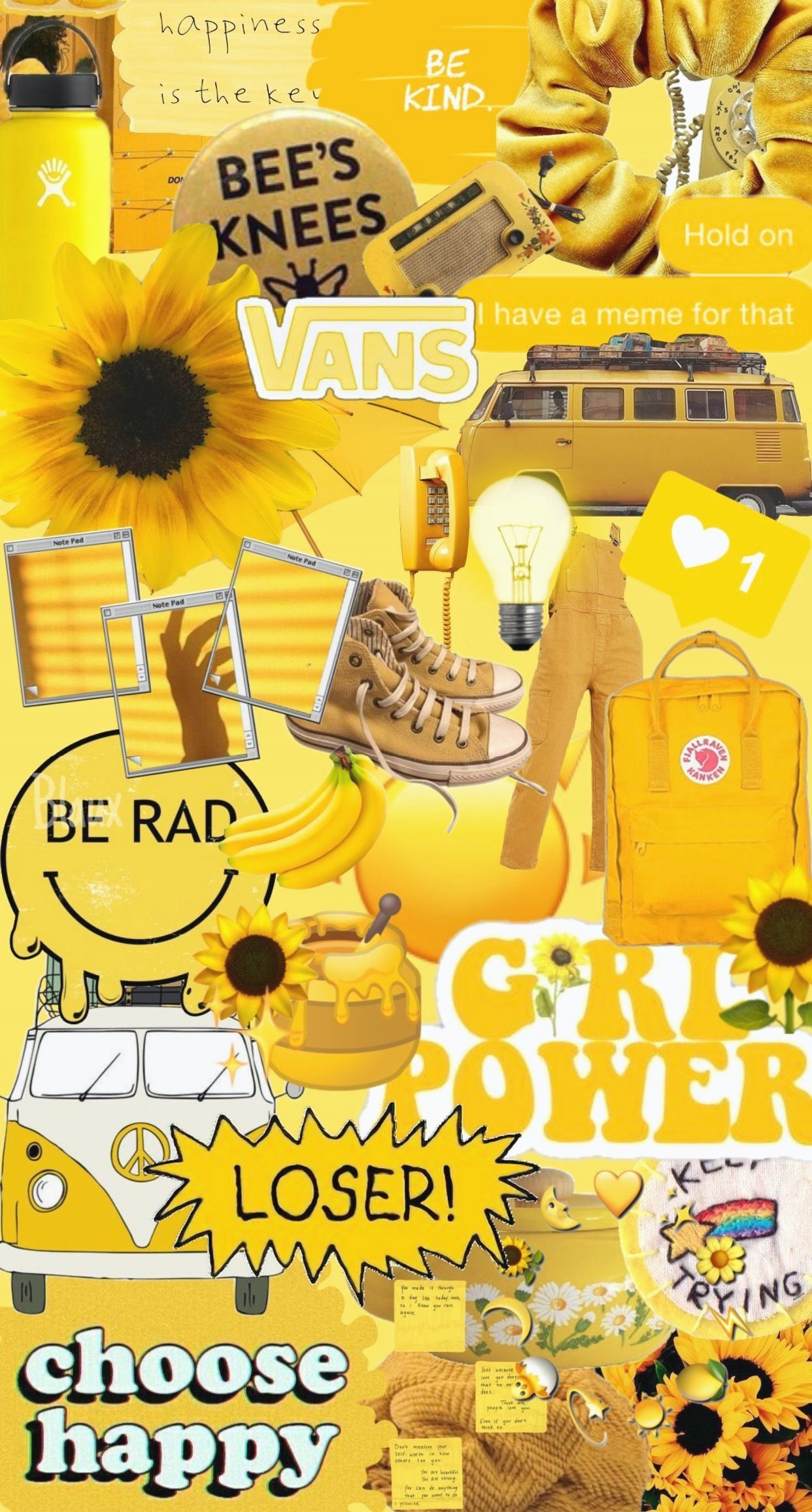 Aesthetic Collage Wallpaper Yellow 2868738 Hd Wallpaper Backgrounds Download