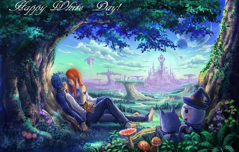 Photo Wallpaper Love, Pair, Fairy Tail, Gerard, Elsa, - Fairy Tail Wallpaper Love , HD Wallpaper & Backgrounds