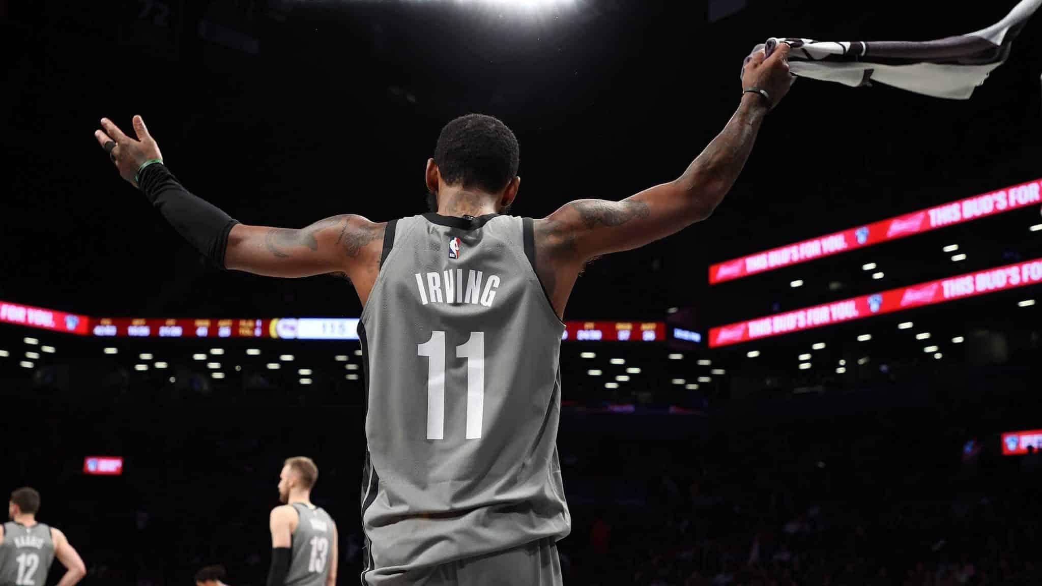 Kyrie Irving Brooklyn Nets , HD Wallpaper & Backgrounds