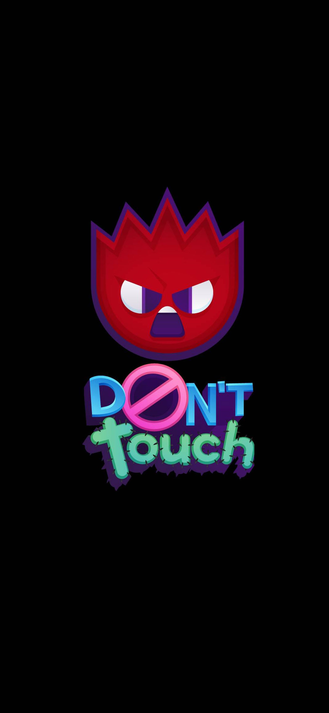Dont Touch Phone Wallpaper - Illustration , HD Wallpaper & Backgrounds
