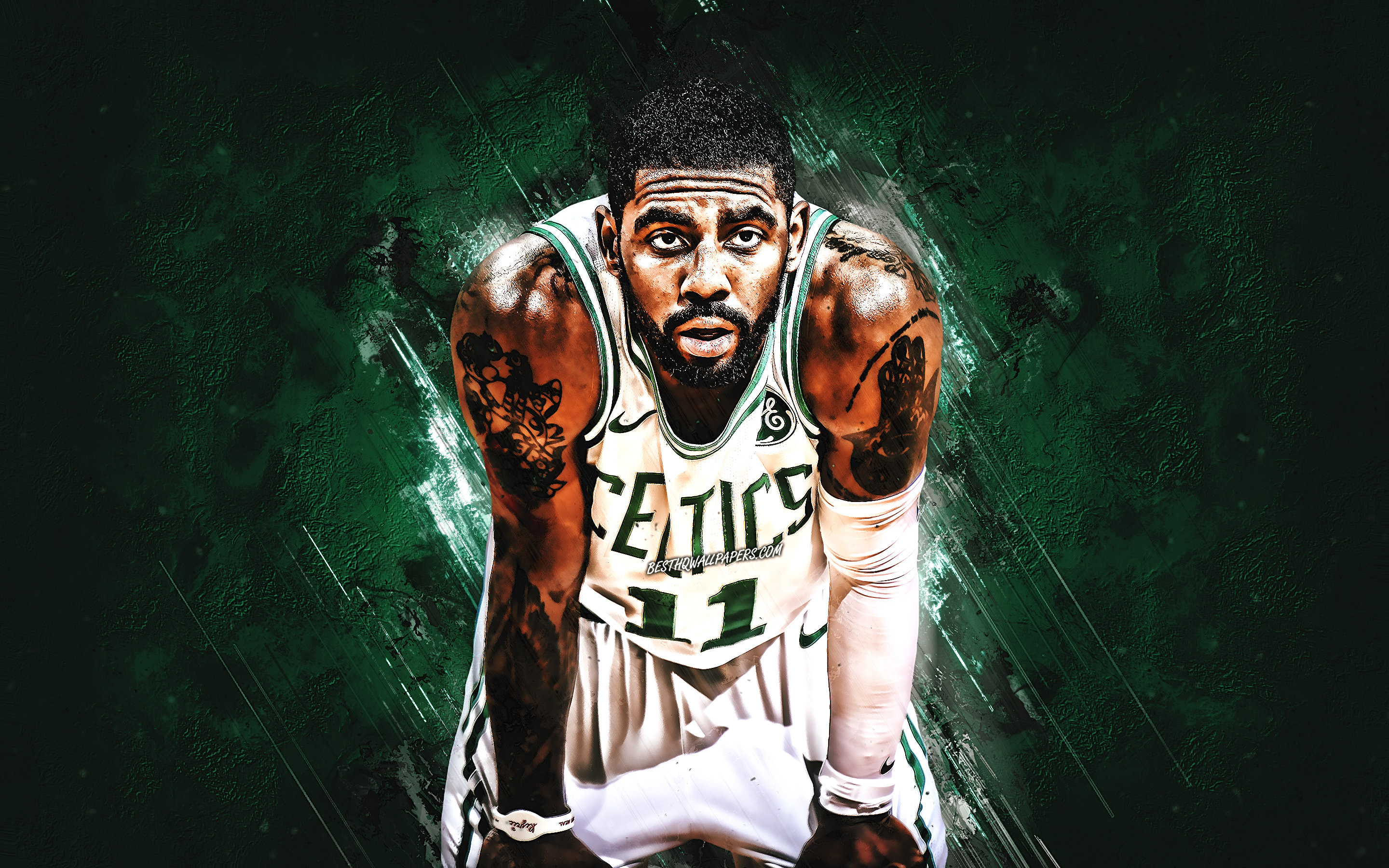 Kyrie Irving, Green Stone, Boston Celtics, Nba, Basketball - Kyrie Irving Wall Paper , HD Wallpaper & Backgrounds