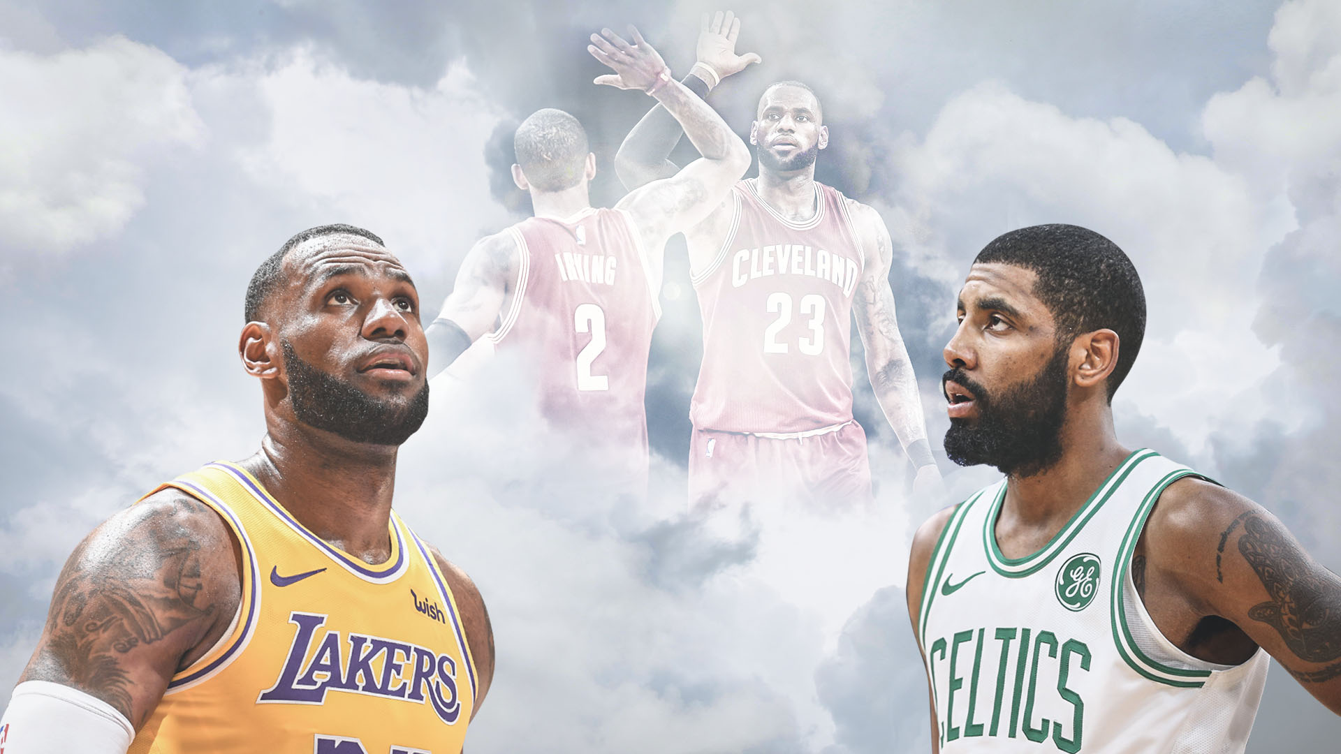 Kyrie And Lebron , HD Wallpaper & Backgrounds