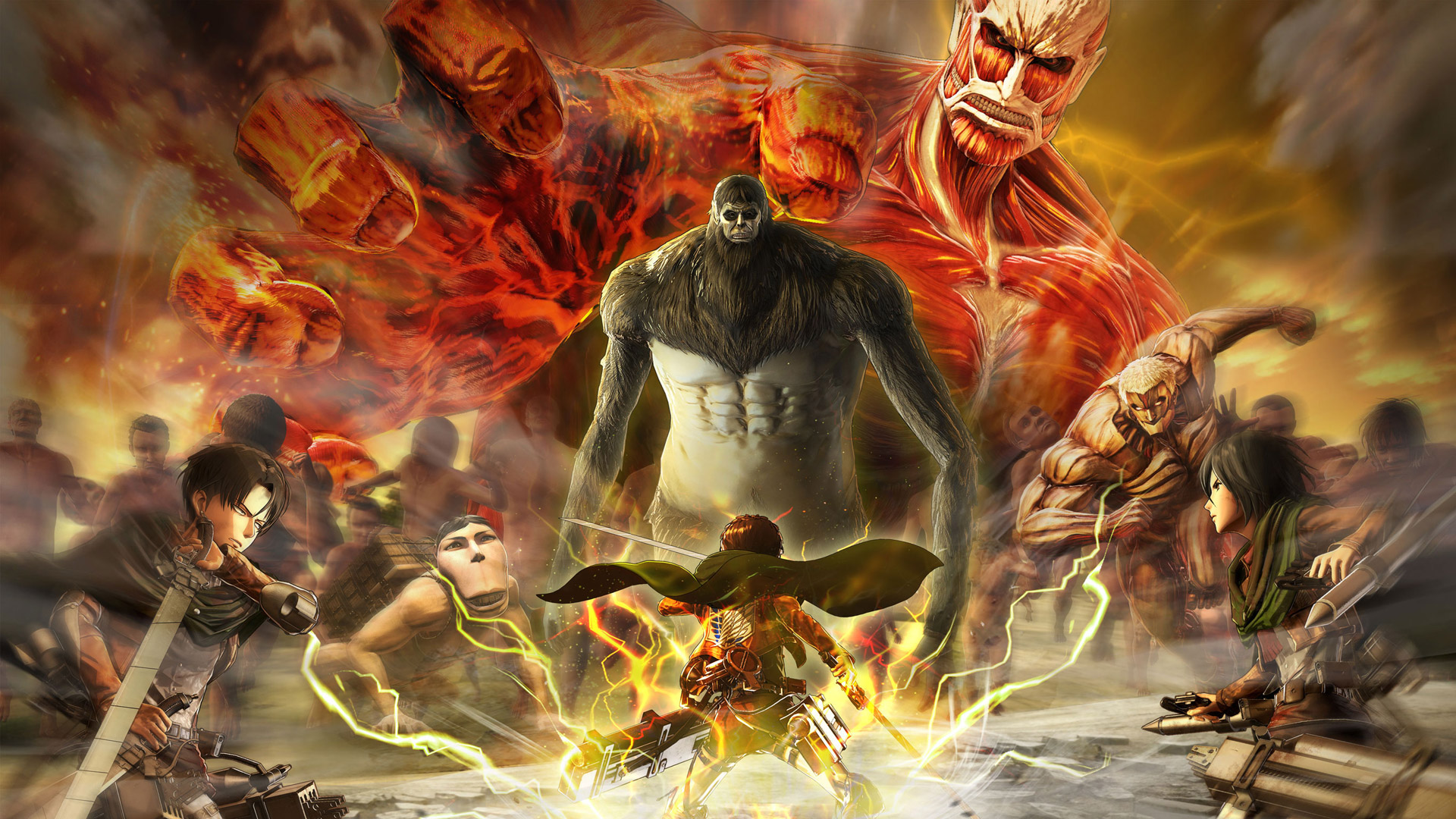 Free Attack On Titan 2 Wallpaper In Aot 2 Final Battle 2873777 Hd Wallpaper Backgrounds Download