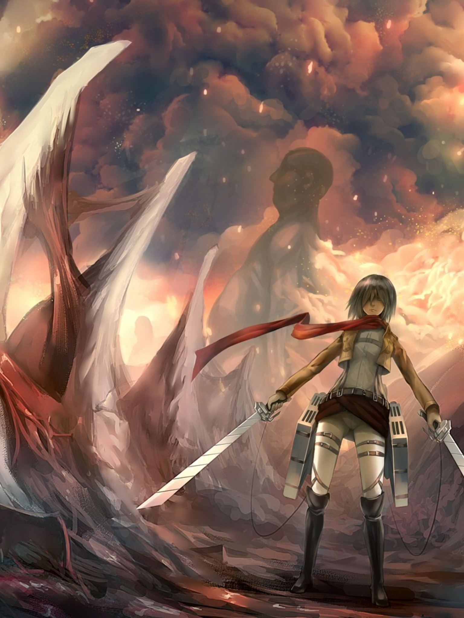 4k Hd Attack On Titan Wallpapers Images Wallpprscom Attack On Titan Wallpaper 4k 2874030 Hd Wallpaper Backgrounds Download