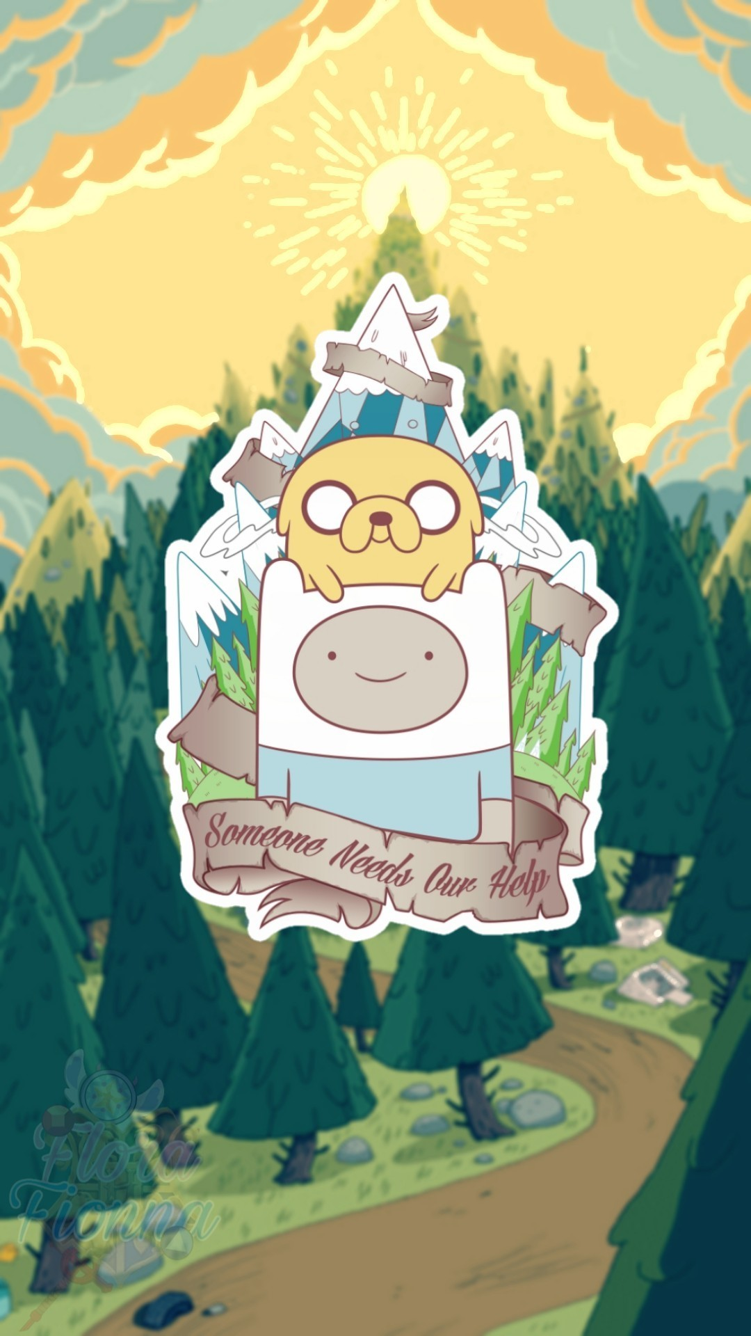 Aesthetic Adventure Time Wallpaper Mobile, Top Wallpaper - Adventure Time Wallpaper Phone , HD Wallpaper & Backgrounds