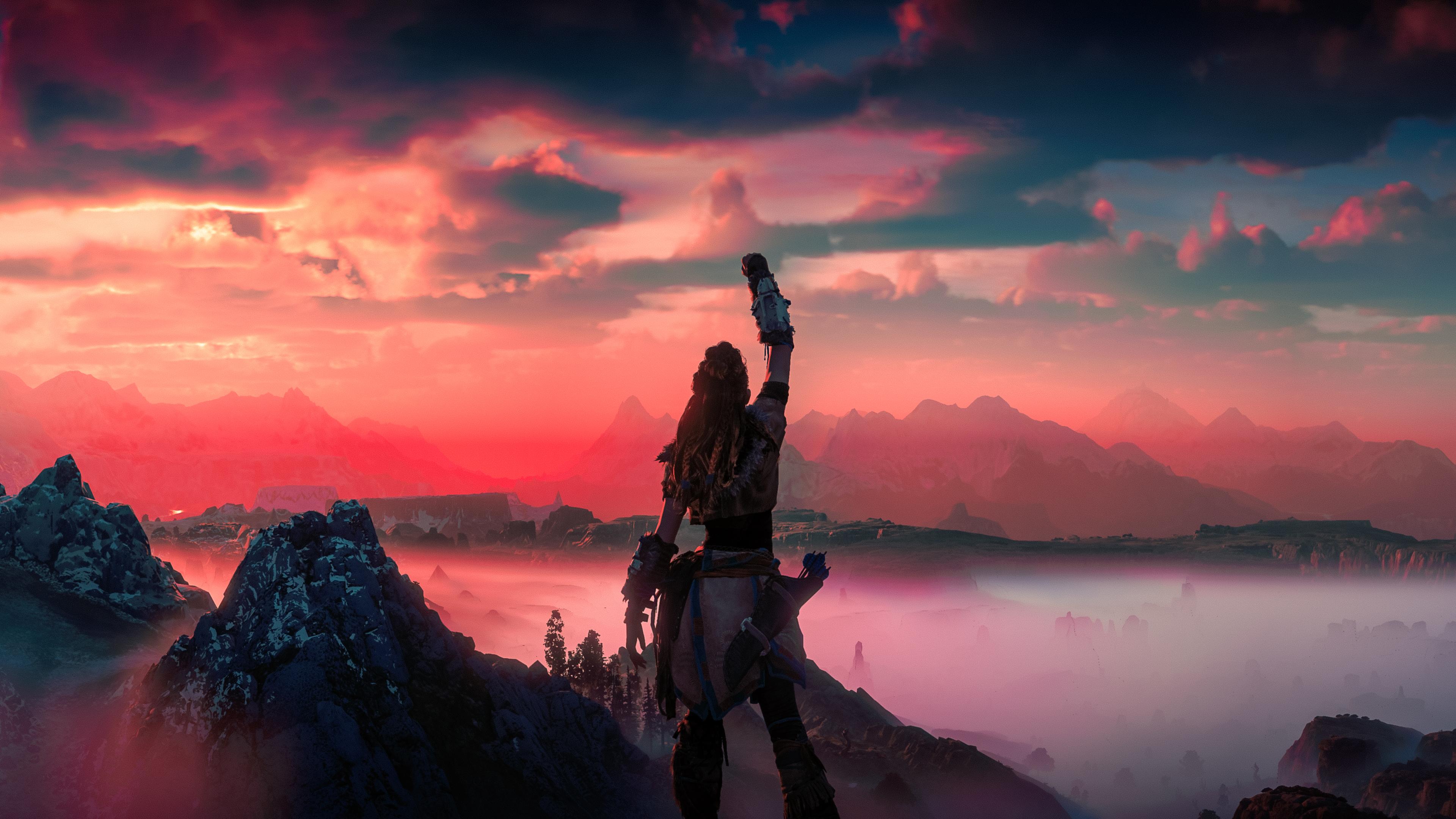 Horizon Zero Dawn Victory 4k - Horizon Zero Dawn 4k , HD Wallpaper & Backgrounds