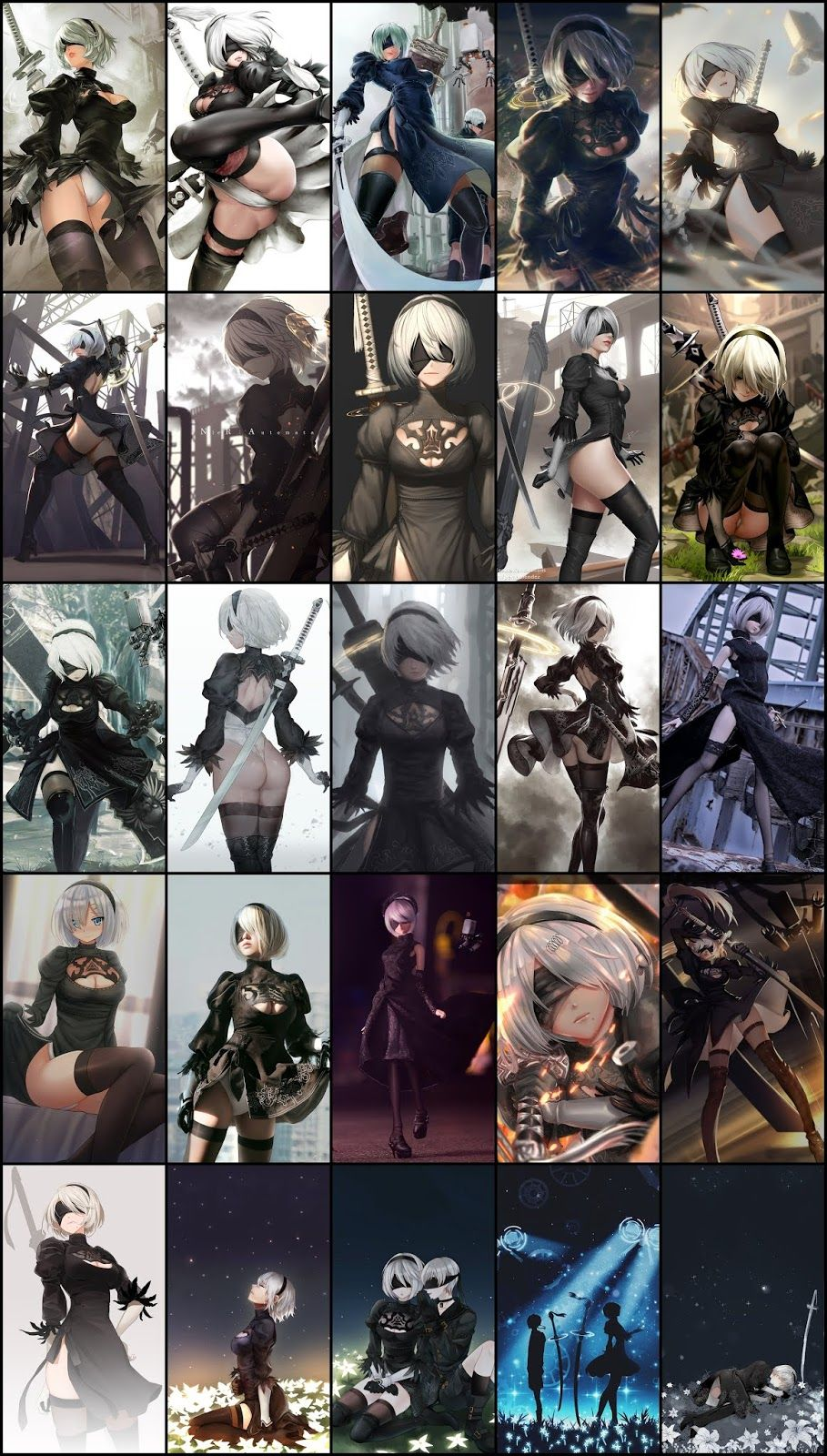 Nier Automata Pack , HD Wallpaper & Backgrounds