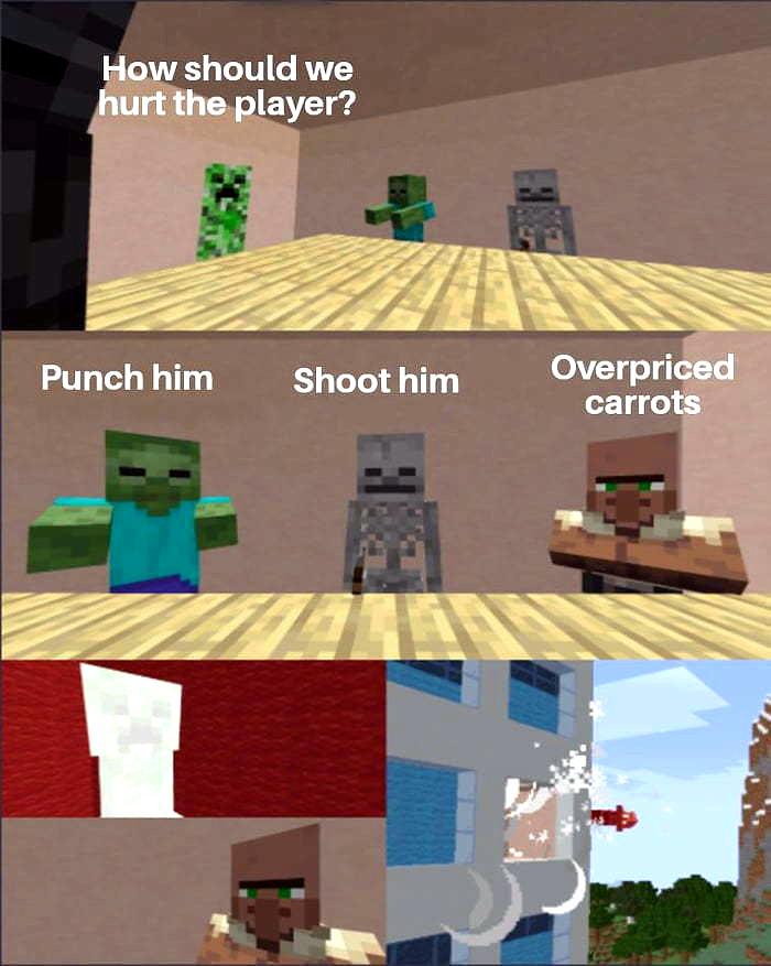 Minecraft Memes , HD Wallpaper & Backgrounds