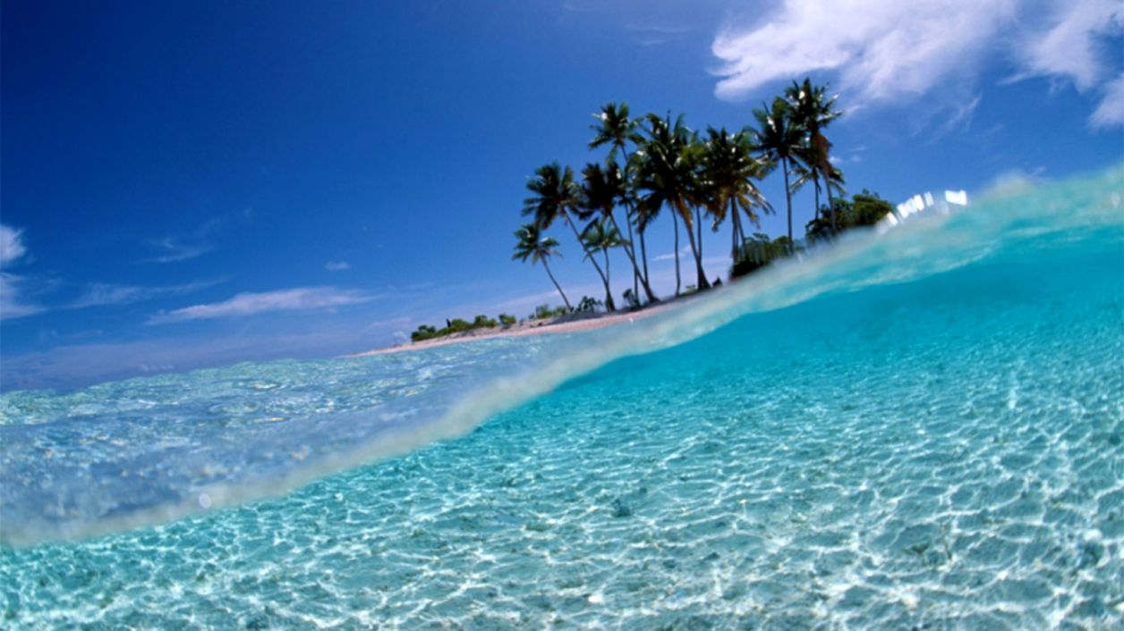 35 Hd Tropical Island Wallpapers For Desktop Wpaisle - Bunaken National Marine Park , HD Wallpaper & Backgrounds