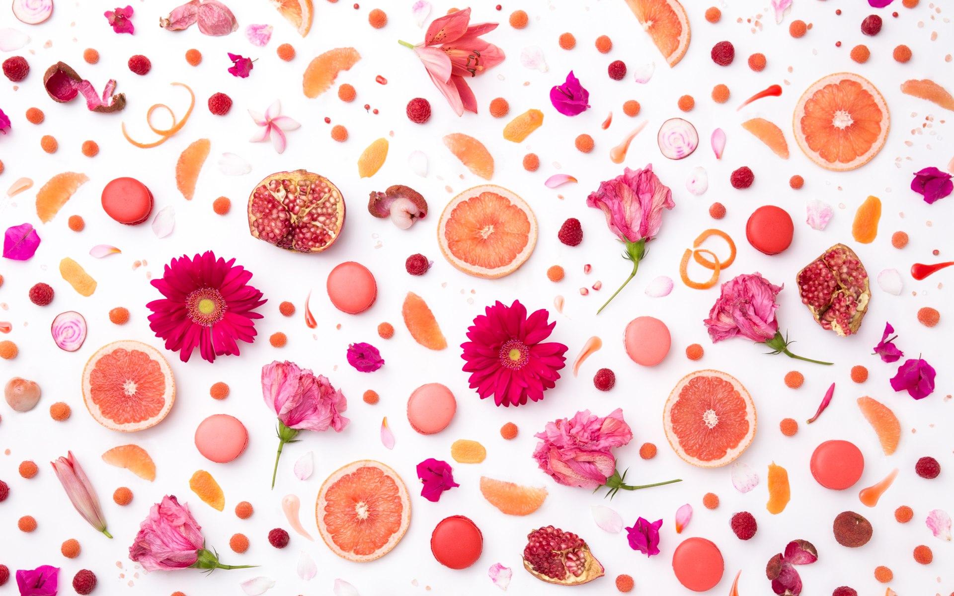 Pink Flower Hd Desktop Wallpaper - Flower Pink Hd Desktop , HD Wallpaper & Backgrounds