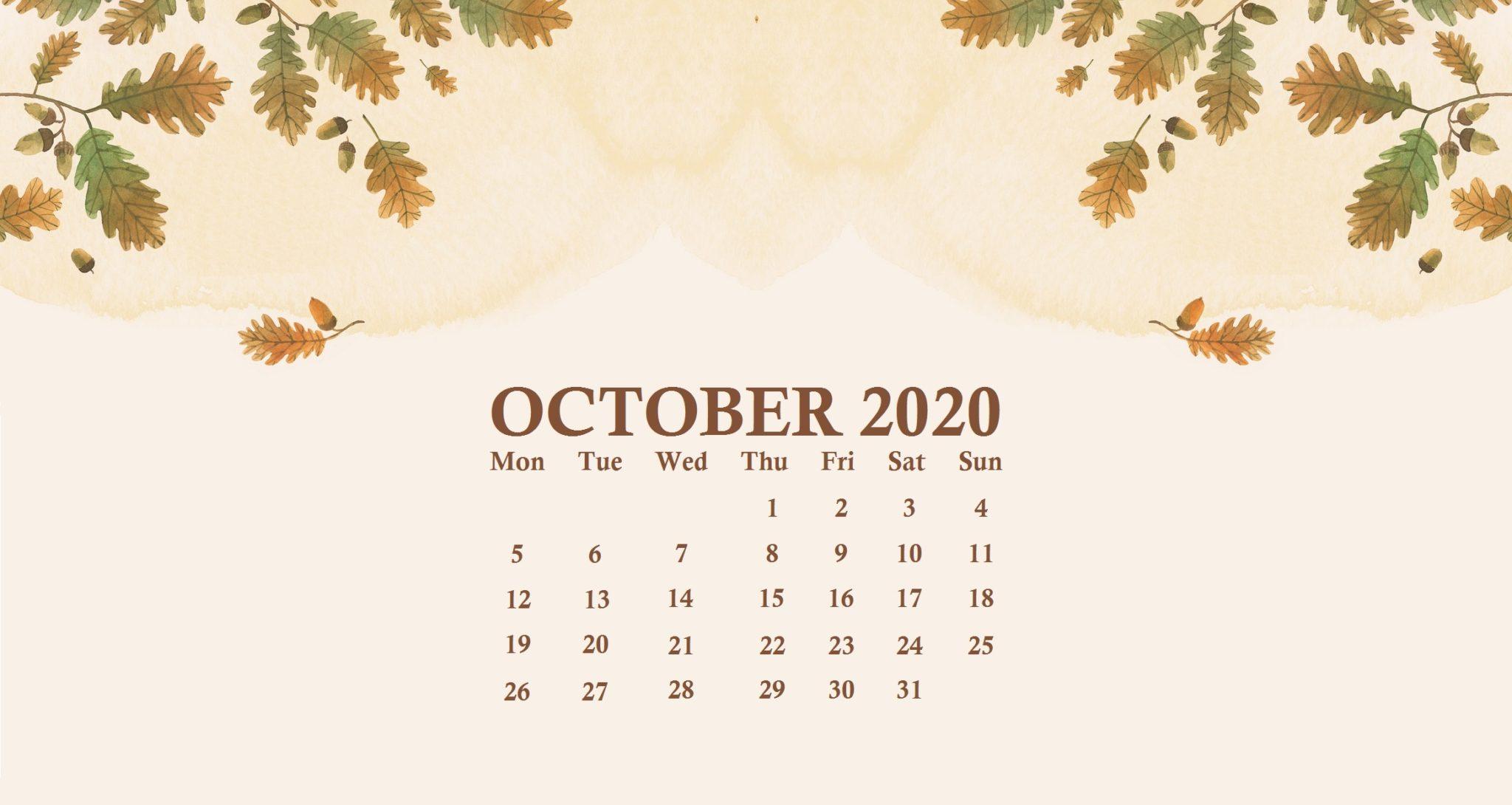288 2881729 october 2020 calendar wallpaper calendar wallpaper october 2020