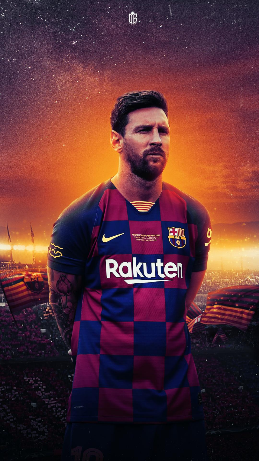 Messi Fc Barcelona , HD Wallpaper & Backgrounds