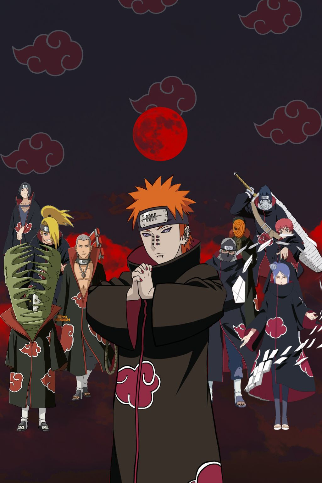 Sasori Wallpaper Pain Naruto 2885723 Hd Wallpaper Backgrounds Download