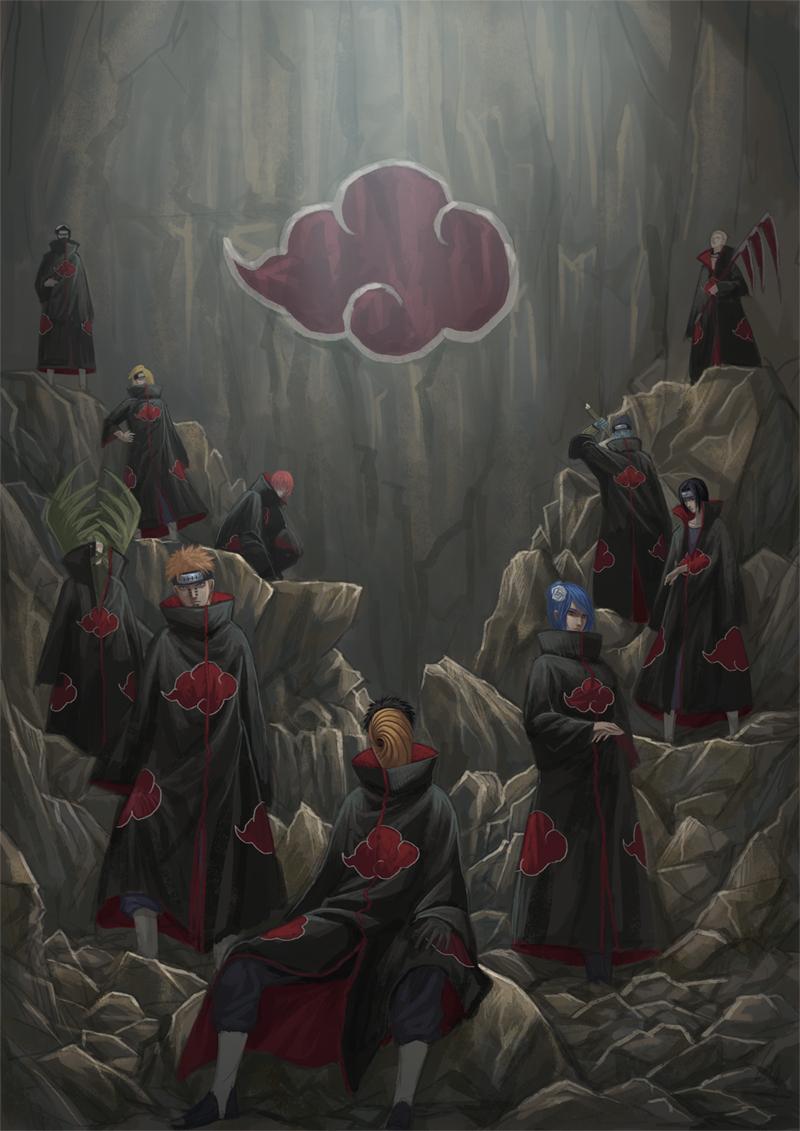 Akatsuki Naruto 2886453 Hd Wallpaper Backgrounds Download