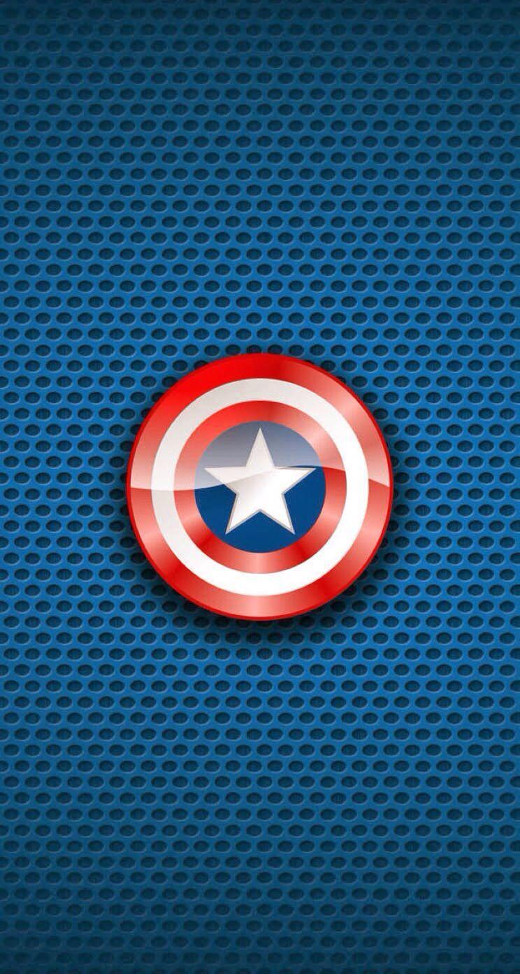 ∞ Iphone Wallpaper ♡ - Captain America Wallpaper Hd For Iphone 6 , HD Wallpaper & Backgrounds