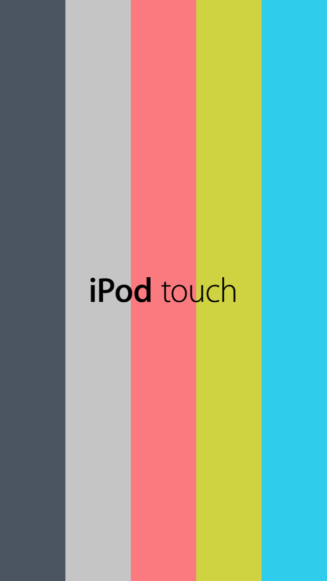 Images From Ipod 5th Generation Post 3 - Ipod Touch Wallpaper Template , HD Wallpaper & Backgrounds