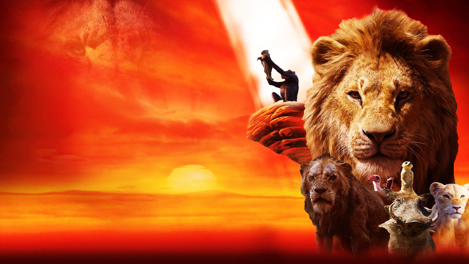 The Lion King 2019 Wallpaper By The Dark Mamba 995 - Lion King Wallpapers 2019 , HD Wallpaper & Backgrounds