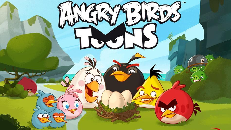 Angry Birds Toons , HD Wallpaper & Backgrounds
