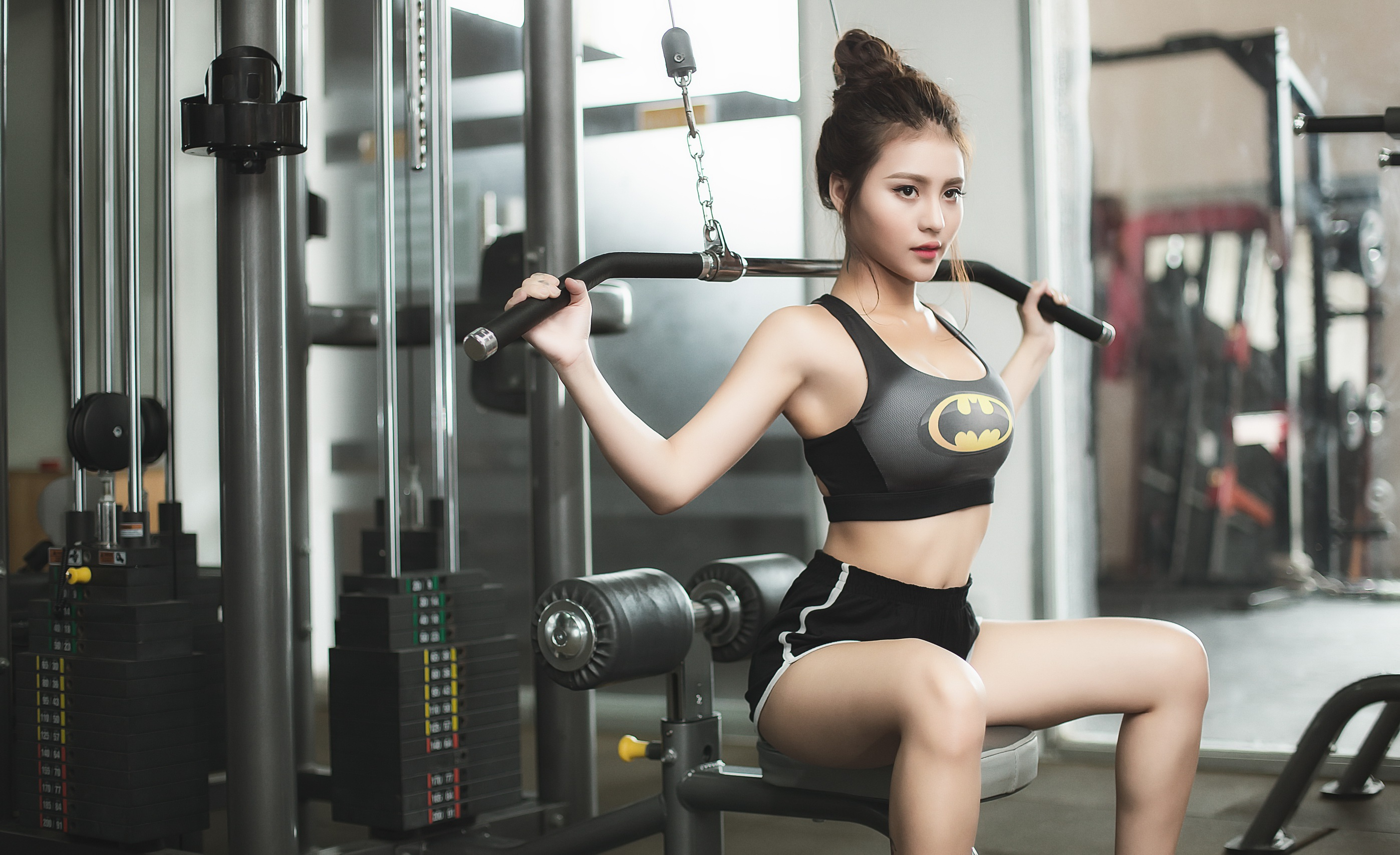 Health And Fitness Wallpaper - Fitness Asian Girl , HD Wallpaper & Backgrounds