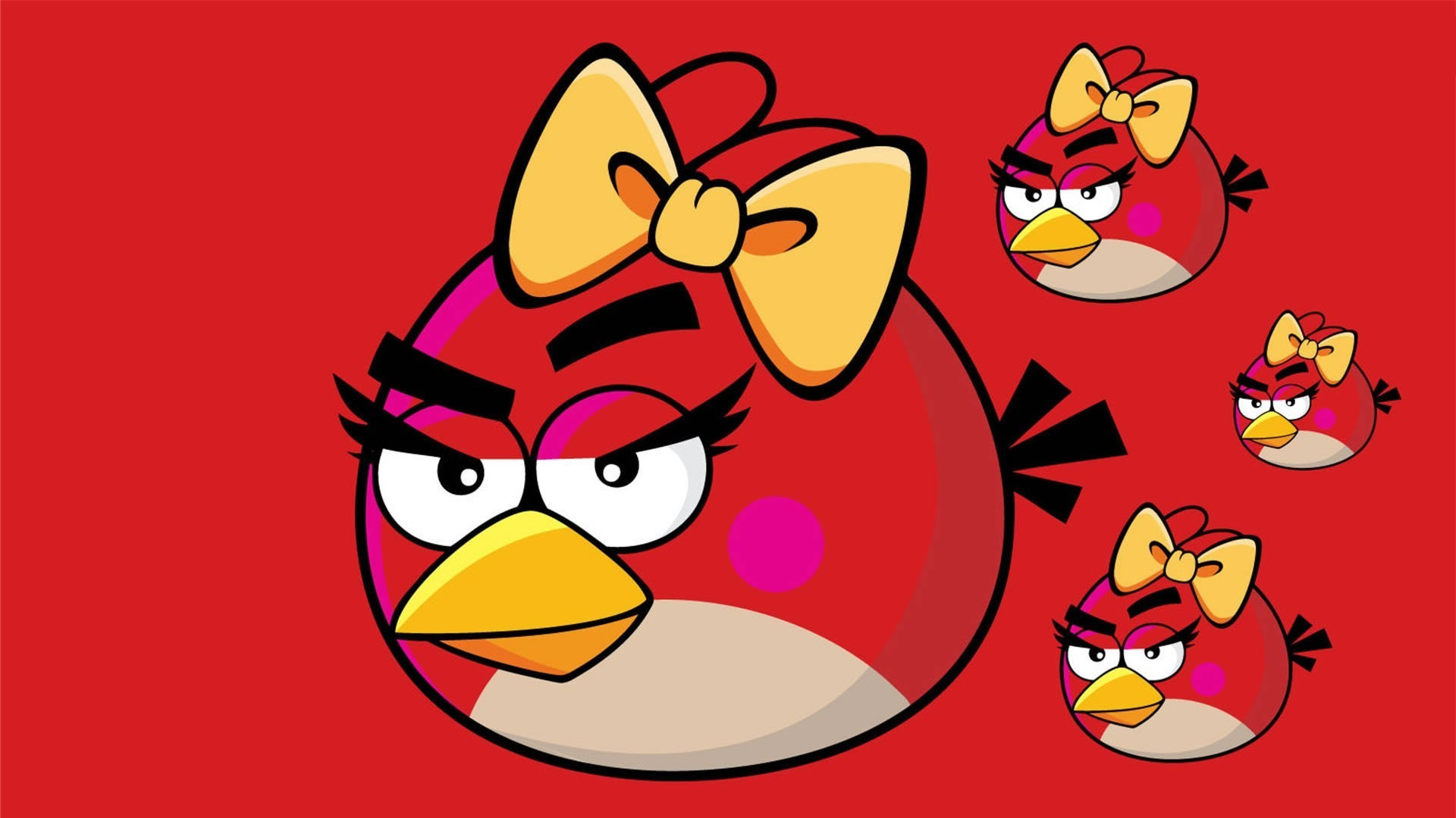 Angry Birds Cartoons Drawings , HD Wallpaper & Backgrounds
