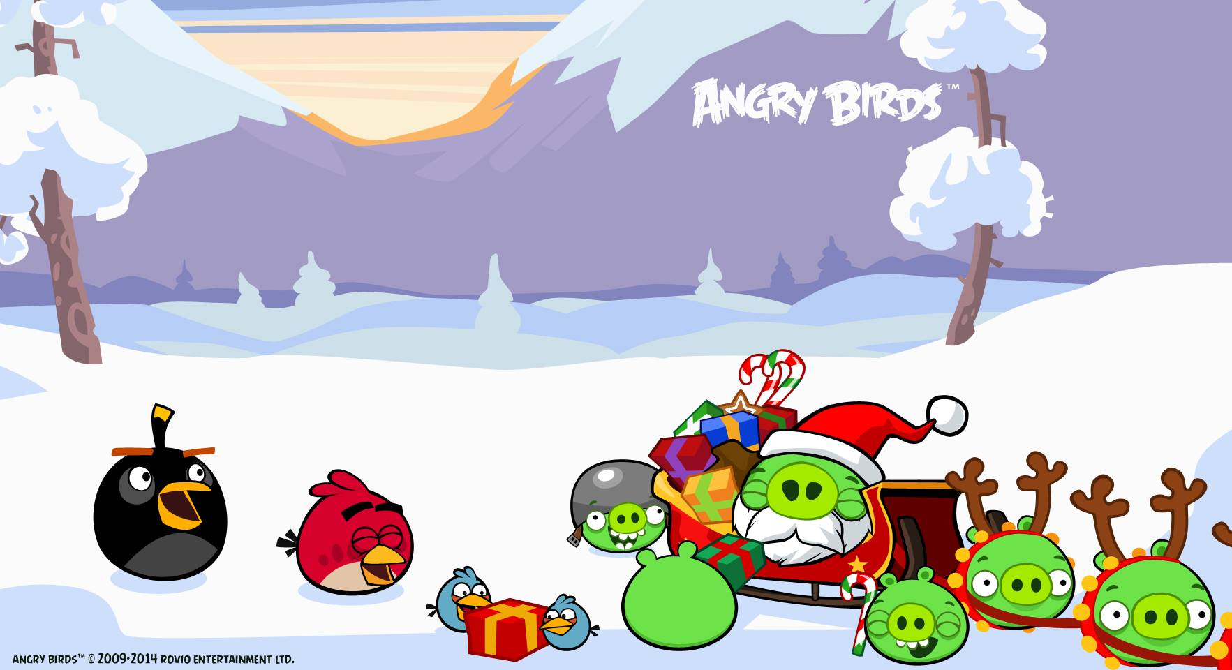 Angry Birds Seasons Mac Game , HD Wallpaper & Backgrounds