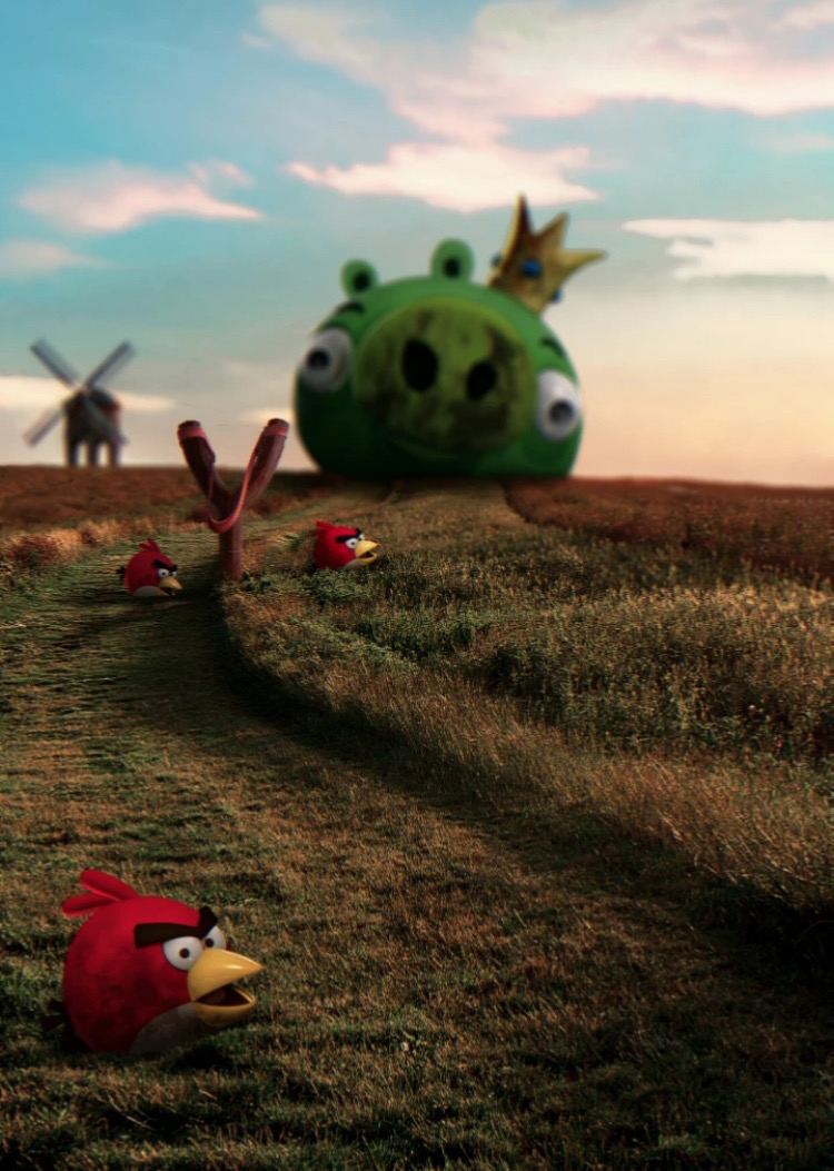 Angry Birds Wallpaper 🔥 - Angry Birds , HD Wallpaper & Backgrounds