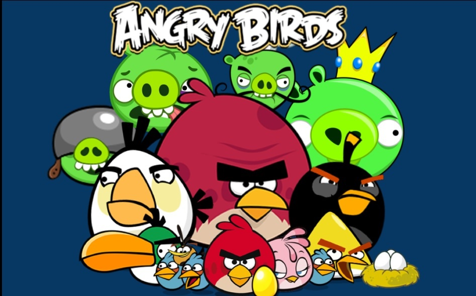 Angry Birds Go Chuck Wallpaper angry Birds Wallpapers - Cartoon Angry Birds Characters , HD Wallpaper & Backgrounds