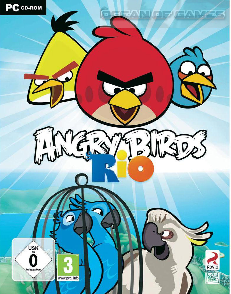 Nice Images Collection - Angry Birds Rio , HD Wallpaper & Backgrounds