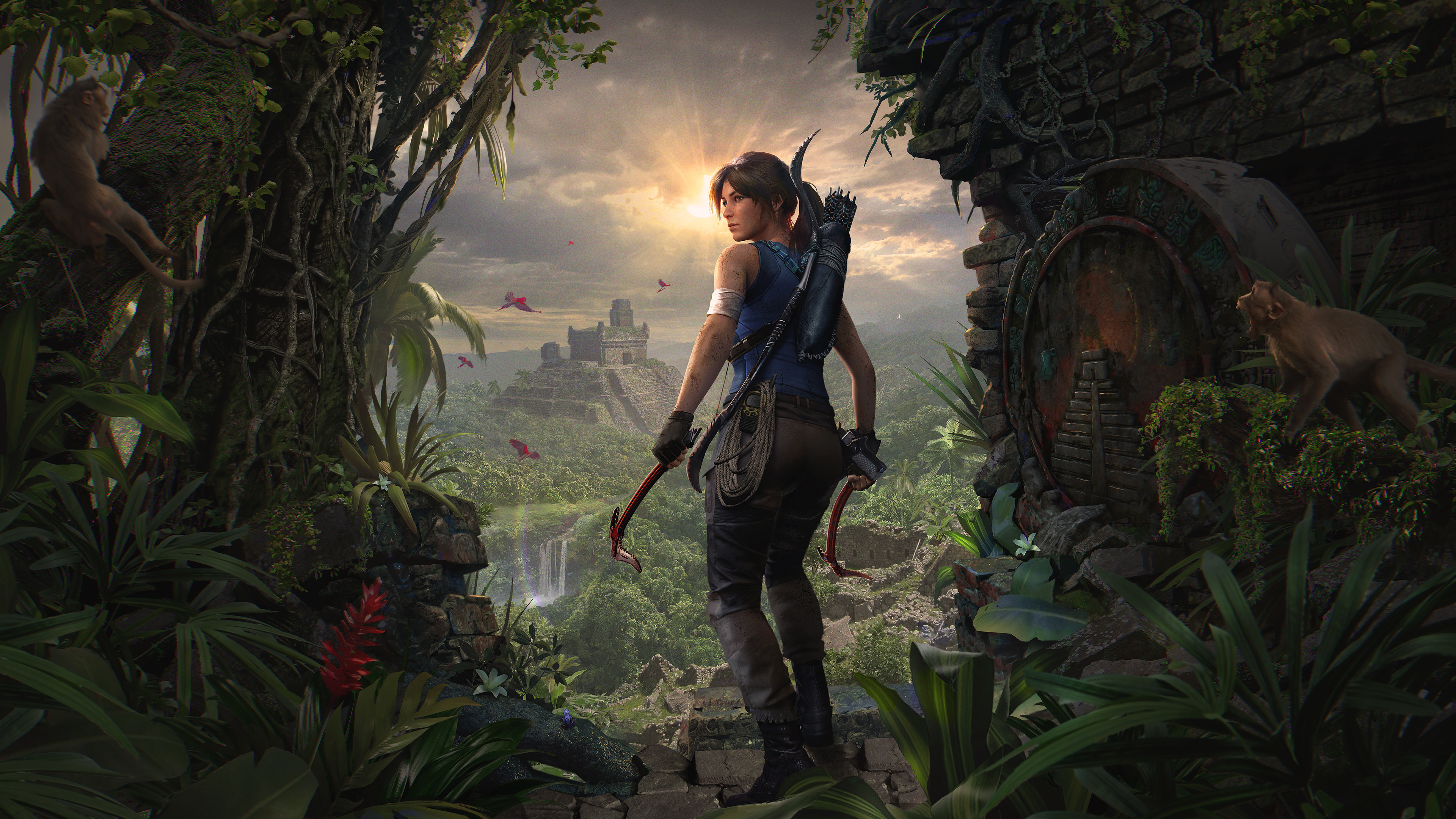 Shadow Of The Tomb Raider Definitive Edition , HD Wallpaper & Backgrounds