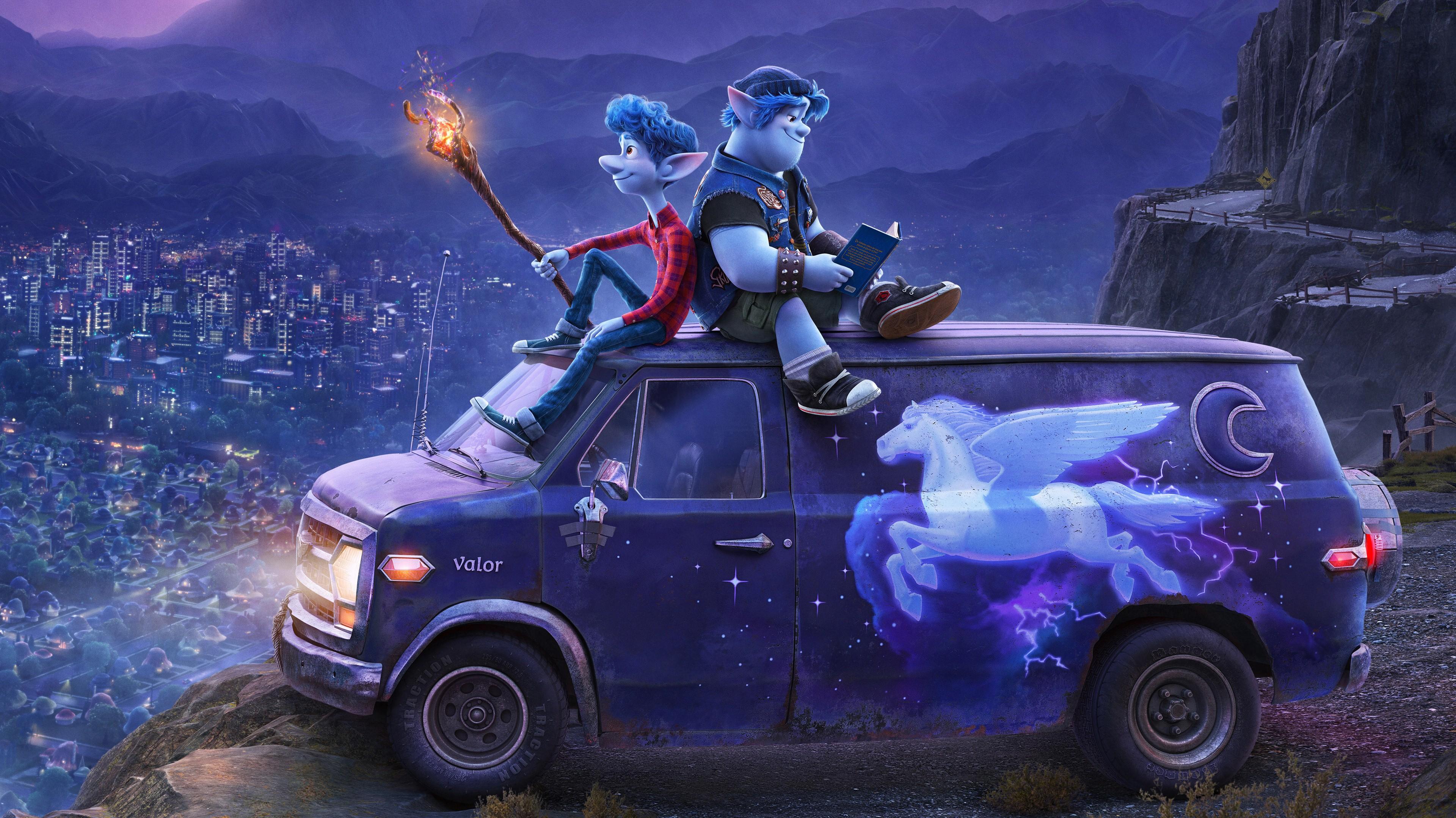 2020 Animation Film Onward Wallpaper 2020 Movie Wallpaper Hd 2899278 Hd Wallpaper Backgrounds Download
